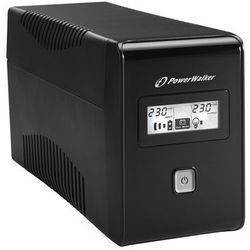 UPS POWER WALKER LINE-INTERACTIVE 850VA 2X 230V PL OUT, RJ11 IN/OUT, USB, LCD