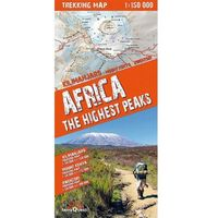 Przewodniki turystyczne, Africa the highest peaks 1:150 000 trekking map - TYSIĄCE PRODUKTÓW W ATRAKCYJNYCH CENACH