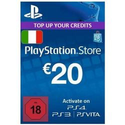 Playstation Network Card (PSN) 20 EUR (Italian)