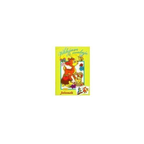 Książki dla dzieci, Jelonek Wklejam i maluję (opr. broszurowa)