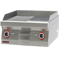 Płyta grillowa elektryczna | KROMET 700.PBE-600GR-C