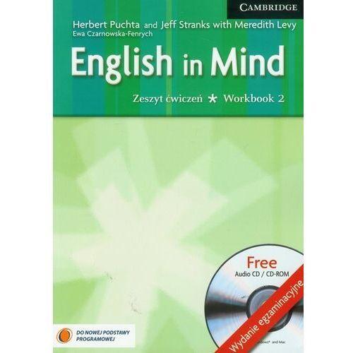 Książki do nauki języka, English in mind 2 Workbook + Cd wydanie egzaminacyjne (opr. miękka)