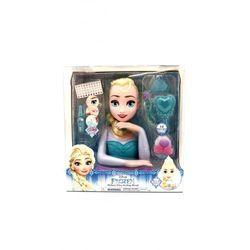 Zabawka JUST PLAY Frozen Kraina Lodu Deluxe głowa do stylizacji Elsa + DARMOWY TRANSPORT! Oferta ważna tylko do 2022-05-28