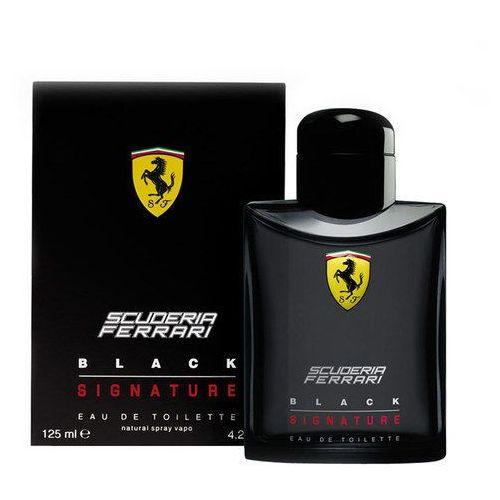 Testery zapachów dla mężczyzn, Ferrari Scuderia Ferrari Black Signature 125ml M Woda toaletowa Tester
