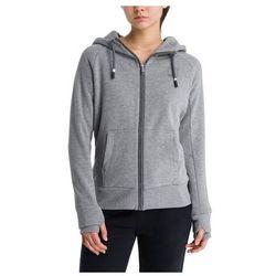bluza BENCH - Her. Zip Through Sweat Hoody Winter Grey Marl (MA1054) rozmiar: S