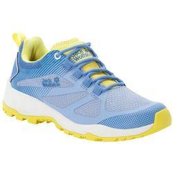 Buty sportowe damskie FAST STRIKER LOW W light blue / lemon - 5