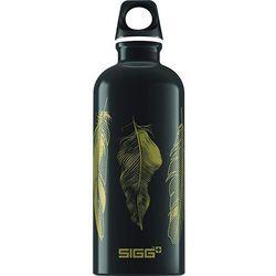 SIGG FEATHERS BLACK - butelka aluminiowa bidon 0,6 L