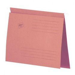 Skoroszyt zawieszany A4, różowy, 50 szt.