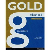 Książki do nauki języka, Gold Advanced Coursbook Online Audio (opr. miękka)