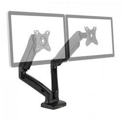 """auna LDT13-C024USB Podwójny uchwyt stołowy do monitora LED LCD 27"""" 2 x 6,5 kg"""