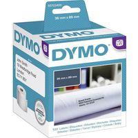 Etykiety fiskalne, Etykieta DYMO adres. duża biała 89x36mm 99012