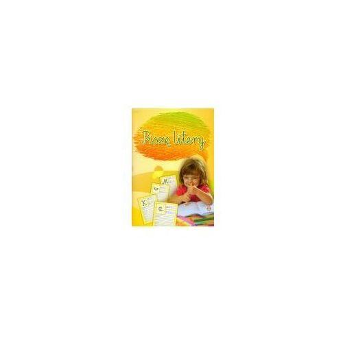 Książki dla dzieci, Piszę litery (opr. miękka)