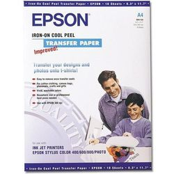 Epson C13S041154 Iron-on-transfer Paper, DIN A4, 124 g/m2, 10 arkuszy