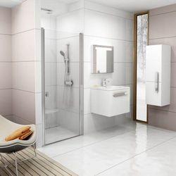 Ravak Chrome drzwi prysznicowe CSD1-90, wys. 195 cm, Polerowane aluminium+Transparent 0QV70C00Z1