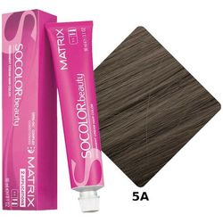 MATRIX SOCOLOR Beauty Farba do włosów 5A Popielaty jasny brąz 90 ml