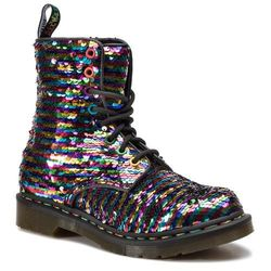 Glany DR. MARTENS - 1460 Pascal Seqn 24594980 Rainbow Multi/Silver