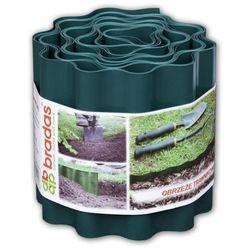 Obrzeże trawnikowe faliste 9m x 15cm zielone CARTO