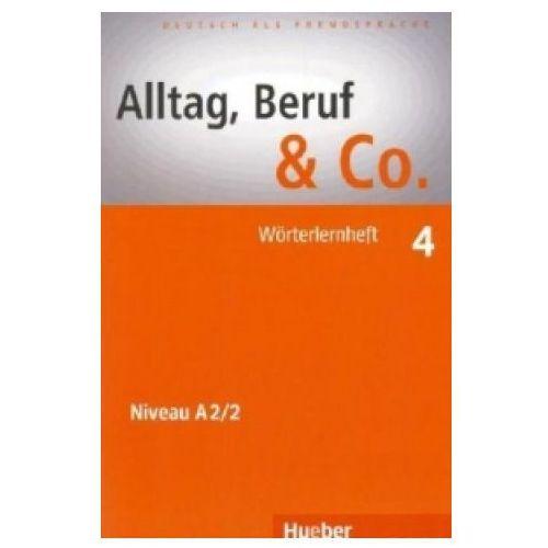 Książki do nauki języka, Alltag, Beruf & Co 4. Wrterlernheft (opr. miękka)