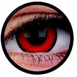 Soczewki kolorowe czerwone ZARATHOS Crazy Lens 2 szt.