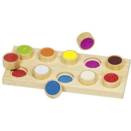 Pozostałe zabawki edukacyjne, Goki cylindry dotykowe