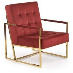 Fotel PRIUS bordowy