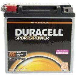 Akumulator motocyklowy Duracell YTX14-BS 12Ah 220A