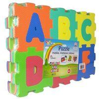 Puzzle, Mata piankowa, litery 100x100cm