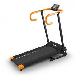 Pacemaker X1 bieżnia 10 km/h komputer treningowy czarno-pomarańczowa