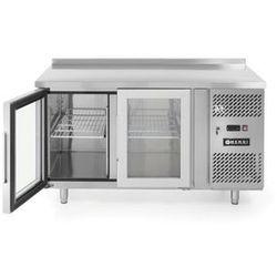 Stół chłodniczy 2-drzwiowy przeszklony z agregatem bocznym HENDI 233429