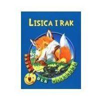 Książki dla dzieci, Lisica i rak. Bajka dla maluszka (opr. broszurowa)