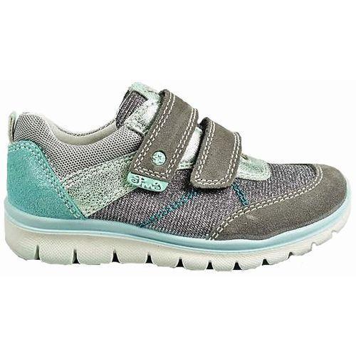 Buty sportowe dla dzieci, Primigi dziewczęce tenisówki brokatowe 28 szary - BEZPŁATNY ODBIÓR: WROCŁAW!