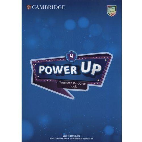 Książki do nauki języka, Power Up 4 Teacher's Resource Book with Online Audio (opr. miękka)