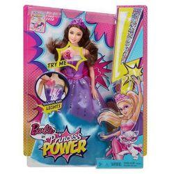 Barbie Super Księżniczki Superbohaterka Światła i Dźwięki CDY62