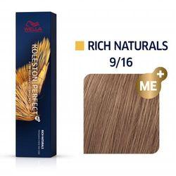 Wella Koleston Perfect ME+   Trwała farba do włosów 9/16 60ml