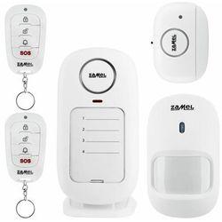 Alarm domowy bezprzewodowy ZAM-350 ZAMEL