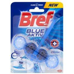 BREF 50g Blue Aktiv Chlorine Zawieszka do muszli WC