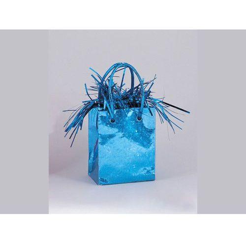 Opakowania prezentowe, Obciążnik do balonów napełnionych helem Mini torebka prezentowa niebieska - 178 g.