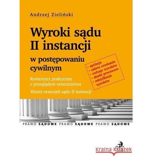 Książki medyczne, Wyroki sądu II instancji w postępowaniu cywilnym (opr. miękka)