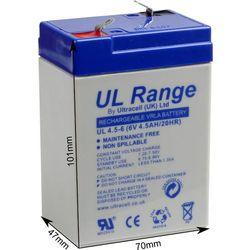 Akumulator AGM ULTRACELL UL 6V 4.5AH
