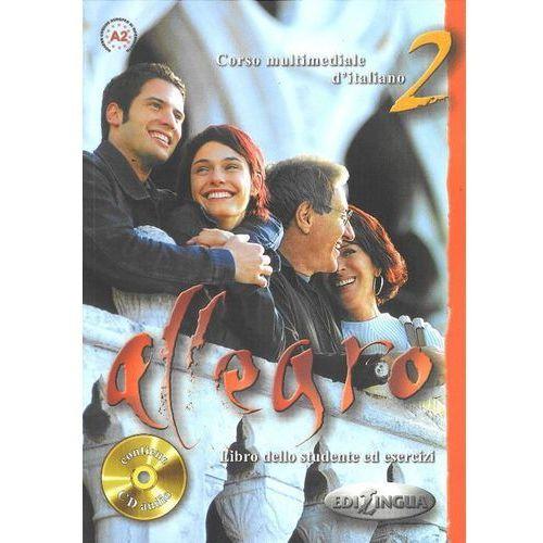 Książki do nauki języka, Allegro 2 Libro dello studente ed esercizi+Cd (opr. broszurowa)