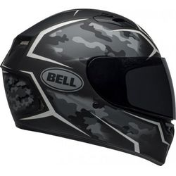 BELL KASK QUALIFIER STEALTH CAMO MATTE BLACK/WHITE