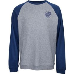 bluza SANTA CRUZ - Outline Crew Indigo/Dark Heather (INDIGO-DARK HEATHER) rozmiar: L