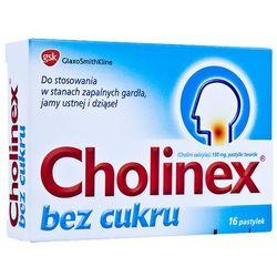 Cholinex bez cukru x 16 pastylek