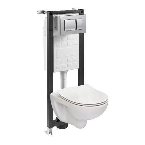 Stelaże i zestawy podtynkowe, Zestaw podtynkowy WC Roca Mitos 35 cm
