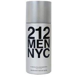 CAROLINA HERRERA - 212 Men Dezodorant w sprayu DSP 150 ml Dla Panów