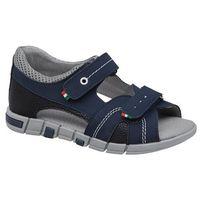 Sandały dziecięce, Sandałki dla chłopca KORNECKI 6337 C.Granatowe - Granatowy ||Multikolor