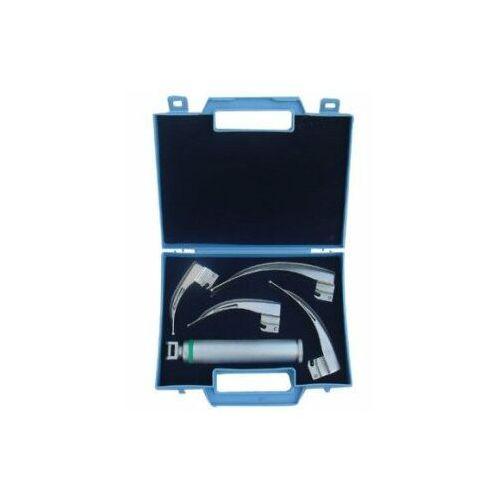 Pozostałe artykuły medyczne, Laryngoskop światłowodowy McIntosh AZWAN HAL-01, 4 łyżki 1-4