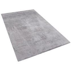 Dywan jasnoszary 80x150 cm krótkowłosy - chodnik - wiskoza - GESI