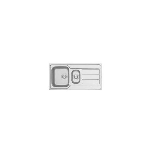 Zlewozmywaki, Zlewozmywak Athena 100x50 1 1/2B1D matowy