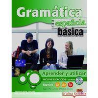 Książki do nauki języka, Gramatica espanola basica A1 A2 B1+Cd (opr. miękka)